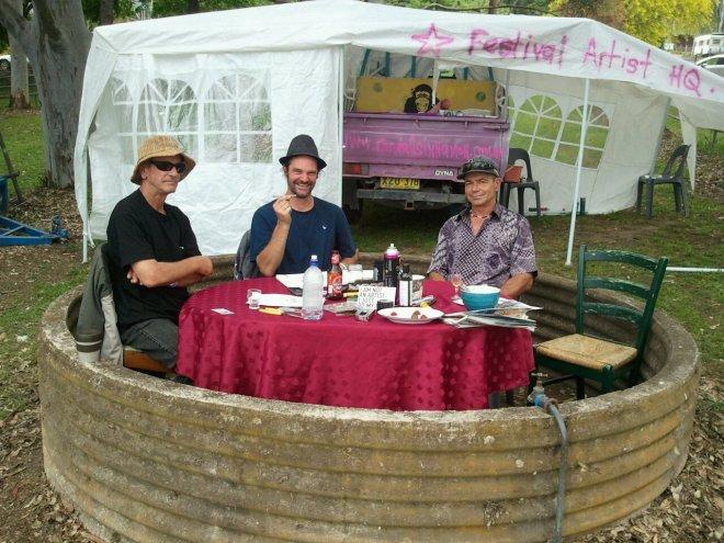 Randall Sinnamon and friends, Kangaroo Valley Folk Festival, 2011