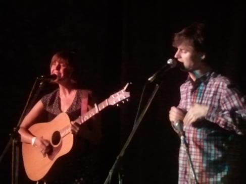 Chloe Hall and Silas Palmer