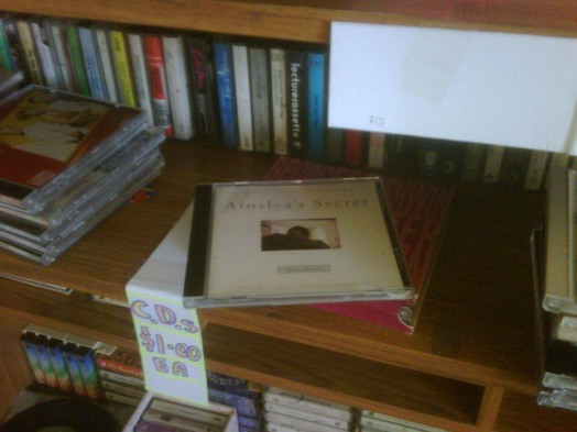 Ainslea's Secret found in Beyond Q bookstore, 2011