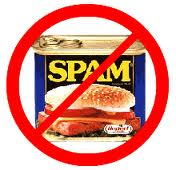 No to spammers