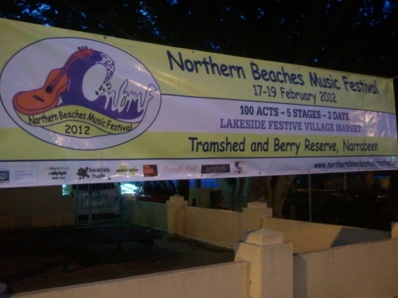 Northern Beaches Music Festival at Berry Reserve, Narabeen