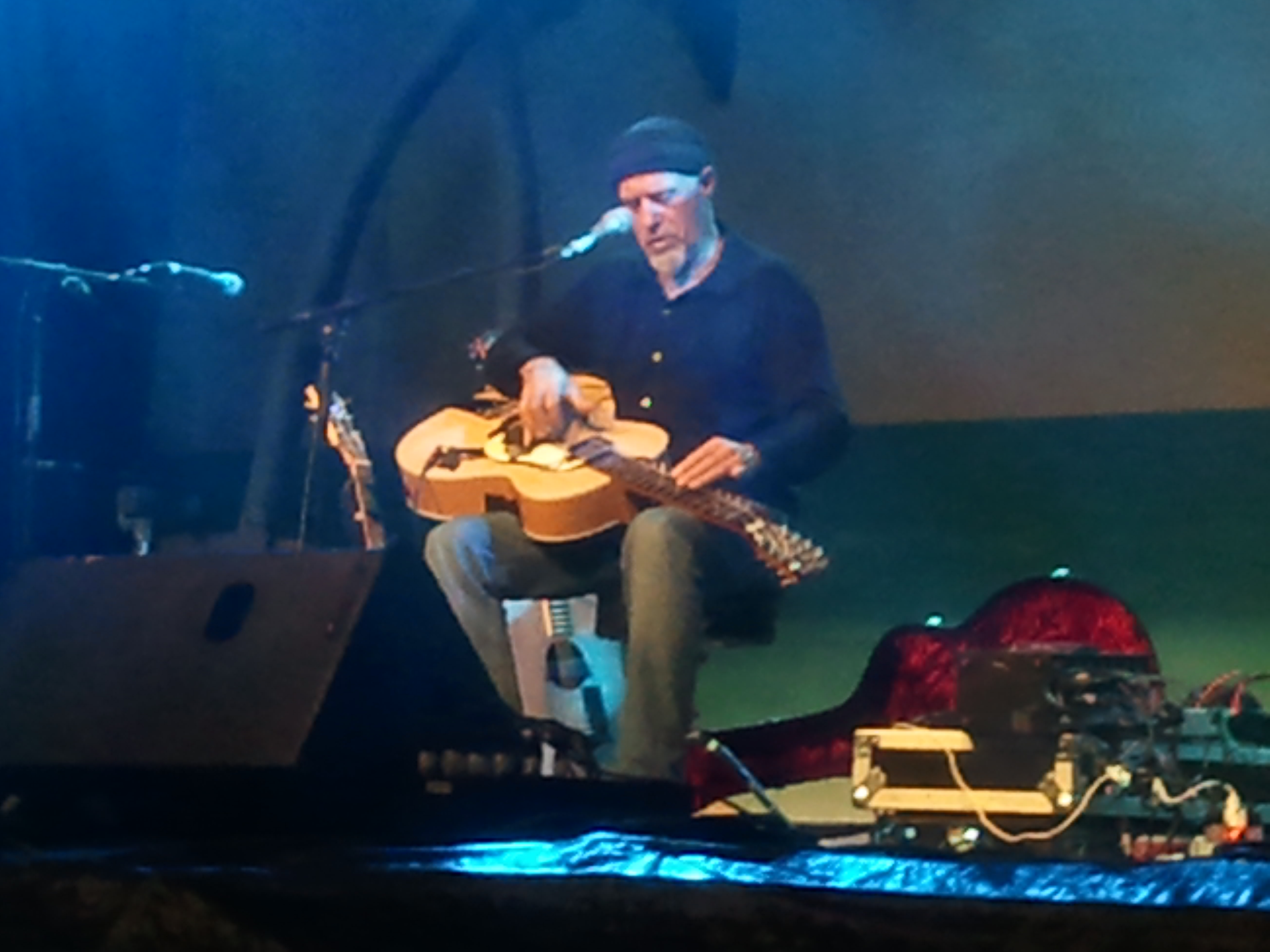 Harry Manx performs at the 2012 National Folk Festival