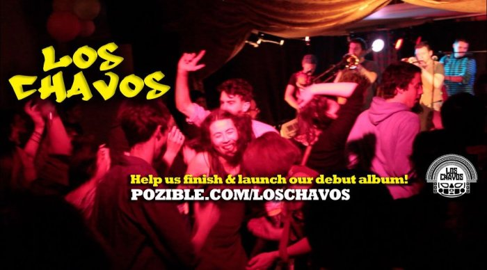 Los Chavos Pozible crowd-sourcing fundraiser