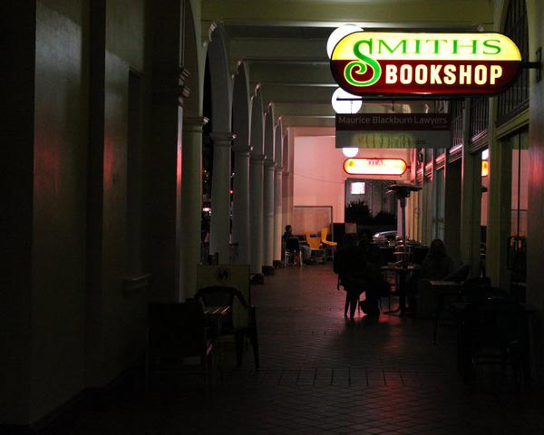 Paperback Sessions at Smiths Alternative Bookshop, Canberra City
