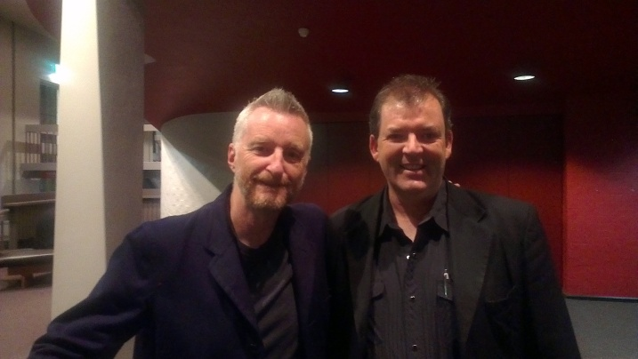 Stephen William Bragg and William Francis Quinn. Canberra Theatre Centre. Tuesday 23 October 2012.