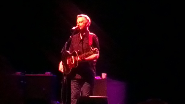 Billy Bragg, Hamer Hall, Melbourne. 19 October 2012.