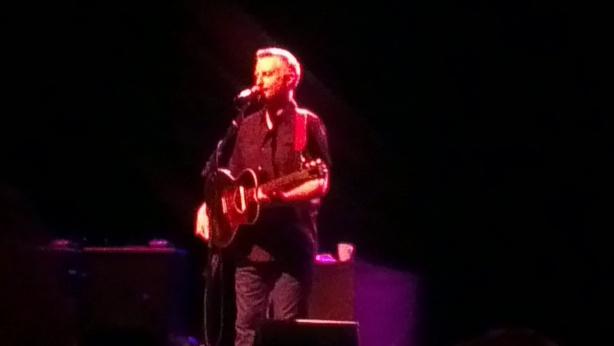 Billy Bragg, Hamer Hall, Melbourne. 19 October 2012.