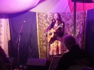 Rosie McDonald performs at the Bohemia Bar