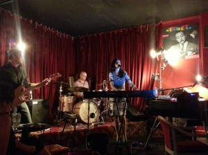 Ann Vriend and Band at Django Bar, Marrackville