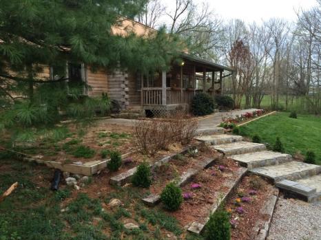 The log cabin. Image courtesy of Michael Johnathon.