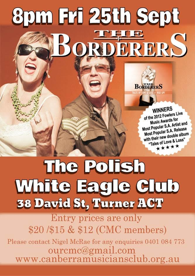 BordererS In Canberra