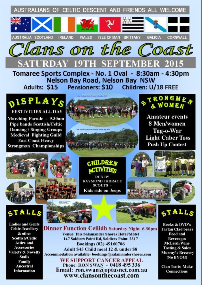 Clans On The Coast
